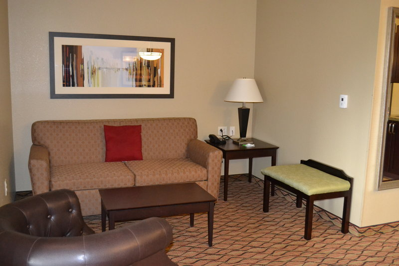 Holiday Inn Eau Claire South I-94-Spacious Living Area of the King Executive Suite<br/>Image from Leonardo