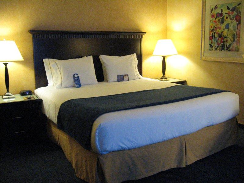 Holiday Inn Express grover Beach-Pismo Beach Area-King Sized Bedroom<br/>Image from Leonardo