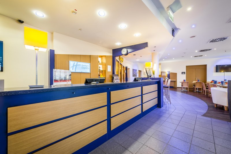 Holiday Inn Express Dortmund-We are ready for you at the reception<br/>Image from Leonardo