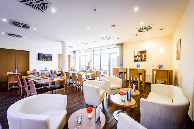 Holiday Inn Express Dortmund-Stay connected with FREE wireless Internet in lobby & bar area<br/>Image from Leonardo