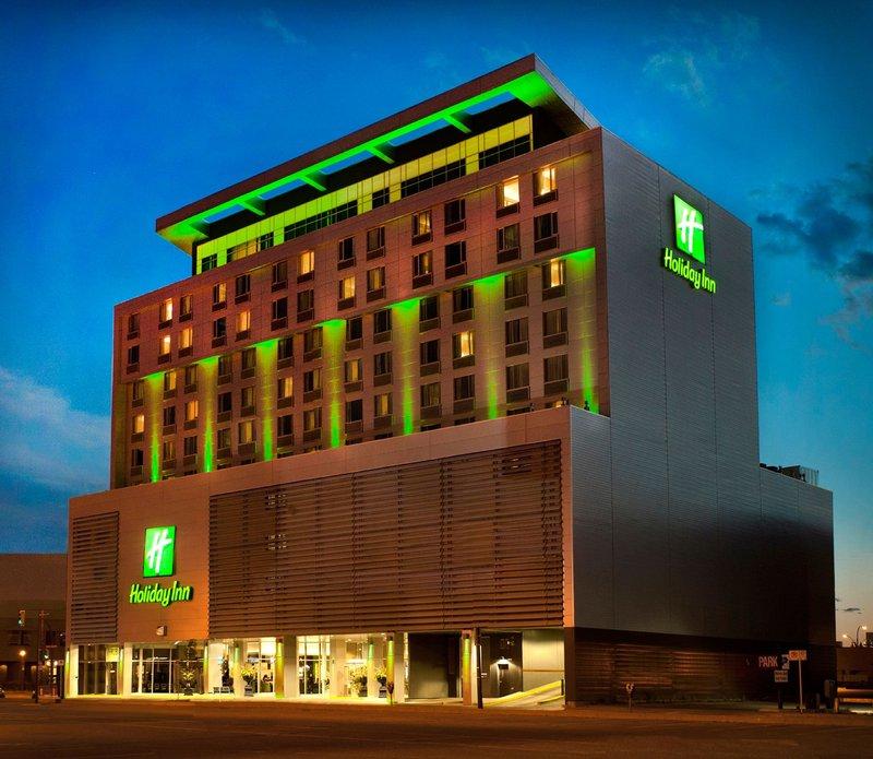 Holiday Inn Saskatoon Downtown-Saskatoon's newest state of the art, downtown hotel.<br/>Image from Leonardo
