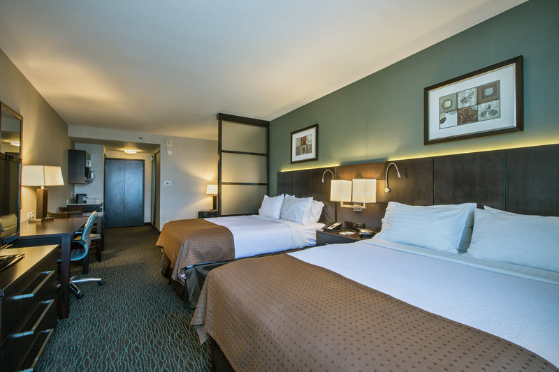 Holiday Inn Saskatoon Downtown-Two queen beds and sleeper sofa.  Sleep up to (6) guests.<br/>Image from Leonardo