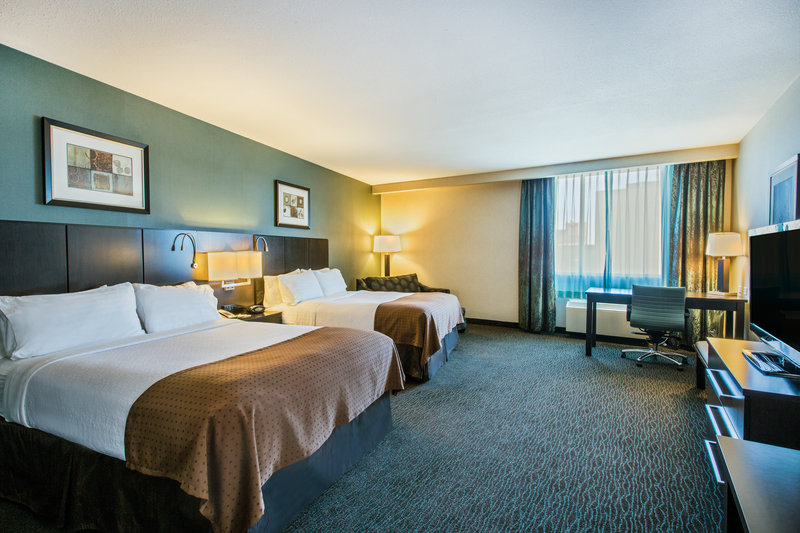 Holiday Inn Saskatoon Downtown-Two Queen Bed Suite with sleeper chair.  Sleeps up to (5) guest<br/>Image from Leonardo