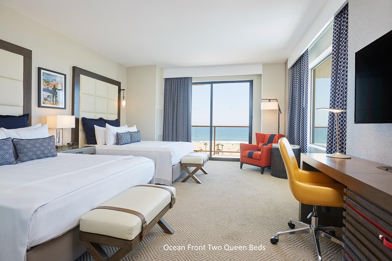 The Waterfront Beach Resort, A Hilton Hotel-TWIN DOLPHIN TOWER DOUBLE QUEEN ROOM OCEANFRONT<br/>Image from Leonardo