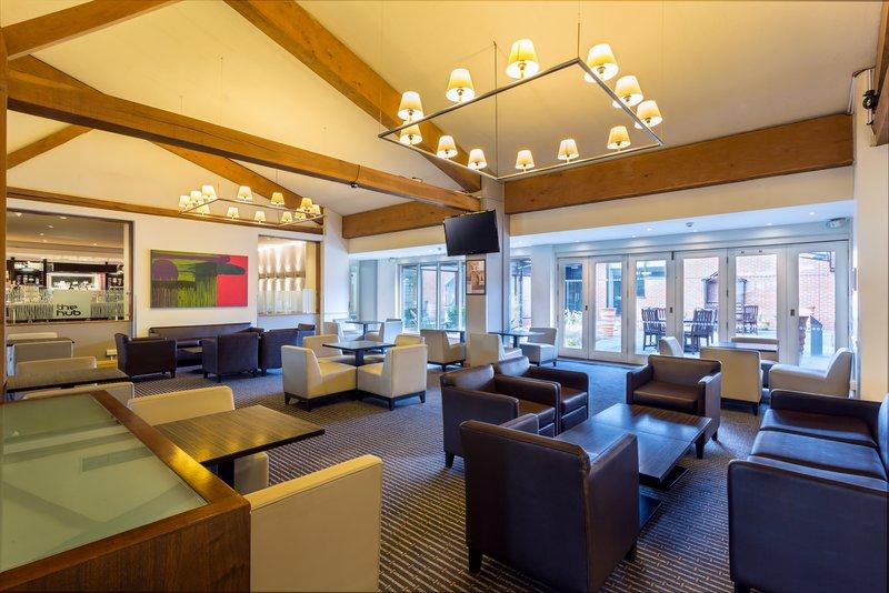 Holiday Inn Cambridge-Kick back in our contemporary Lobby<br/>Image from Leonardo