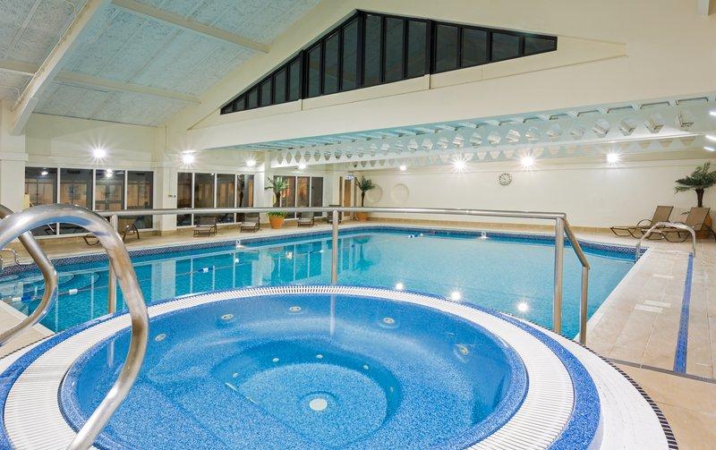 Holiday Inn Cambridge-Enjoy a long soak in our stunning indoor Pool<br/>Image from Leonardo