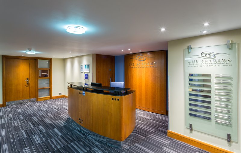 Holiday Inn Cambridge-Check in at the Academy Reception Area<br/>Image from Leonardo