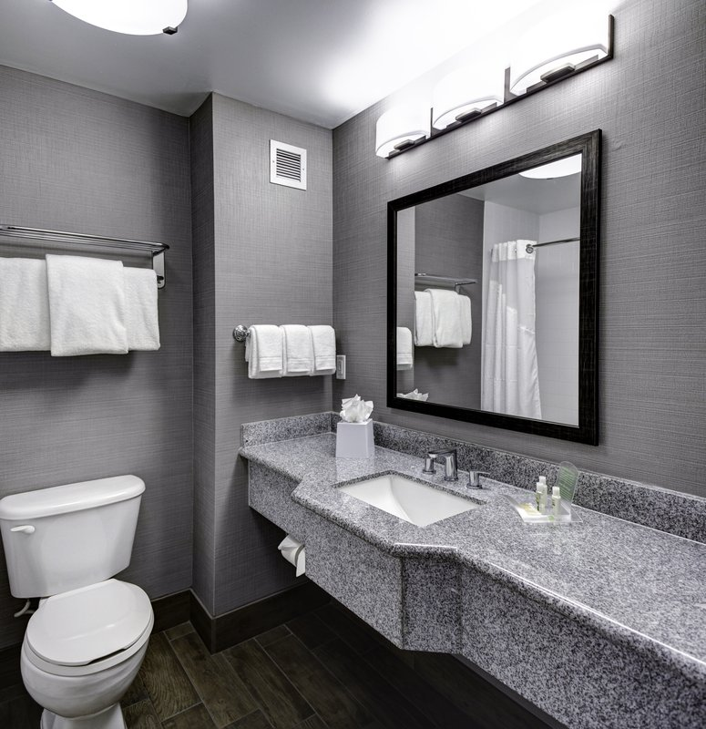 Holiday Inn Savannah Historic District-Stylish bathrooms complete with complimentary grooming essentials<br/>Image from Leonardo