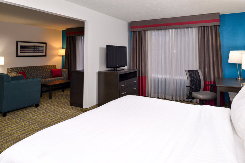 Holiday Inn Express & Suites Omaha West-Executive One King Bed with pull out sofa bed 600sqft<br/>Image from Leonardo