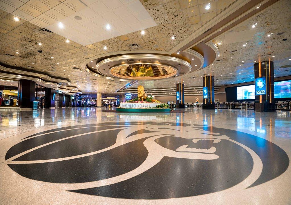 MGM Grand Hotel & Casino - MGMLobby <br/>Image from Leonardo