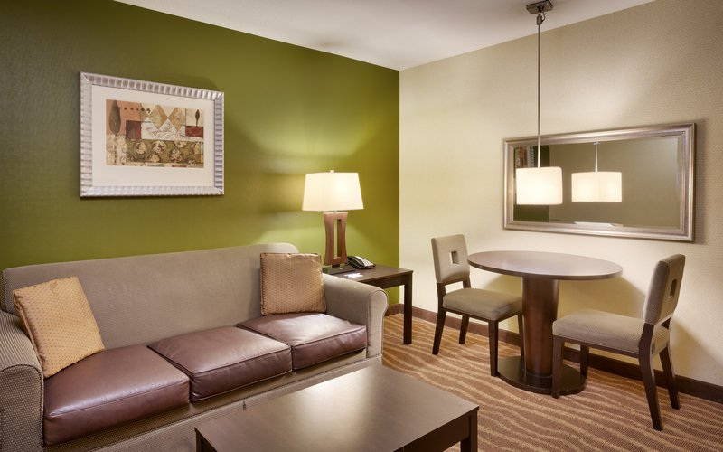 Holiday Inn Express & suites American Fork - North Provo-Spread out in a double queen and sofa suite in American Fork.<br/>Image from Leonardo