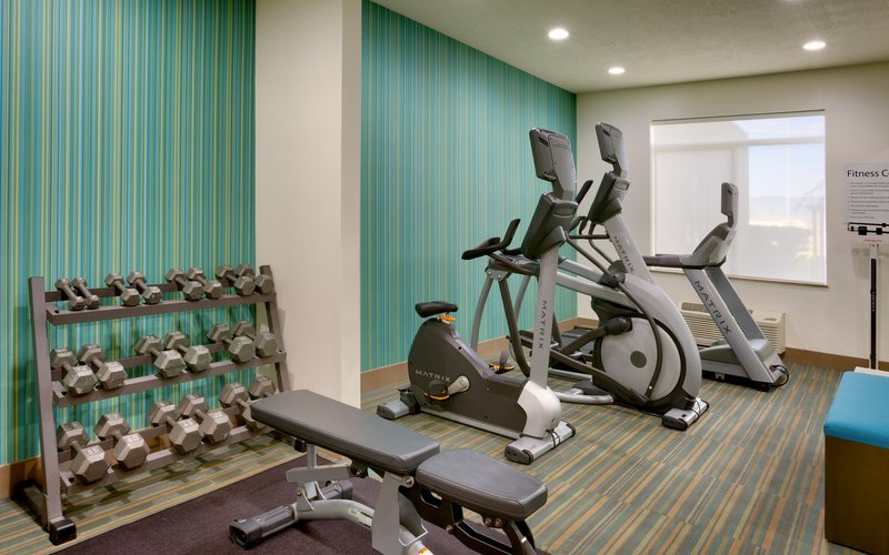 Holiday Inn Express & suites American Fork - North Provo-Fitness Center<br/>Image from Leonardo