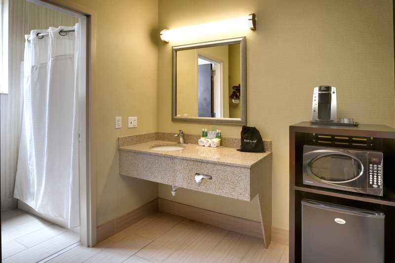 Holiday Inn Express & suites American Fork - North Provo-Guest Bathroom<br/>Image from Leonardo