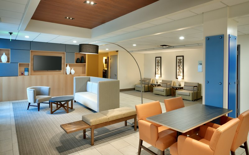 Holiday Inn Express & suites American Fork - North Provo-Hotel Lobby<br/>Image from Leonardo