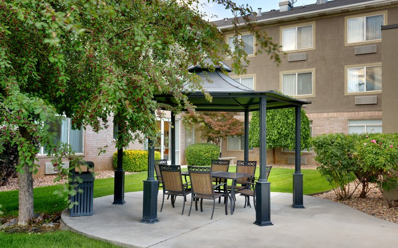 Holiday Inn Express & suites American Fork - North Provo-Guest Patio<br/>Image from Leonardo