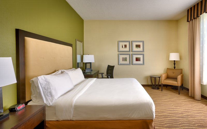 Holiday Inn Express & suites American Fork - North Provo-Spread out in a king bed room in American Fork.<br/>Image from Leonardo