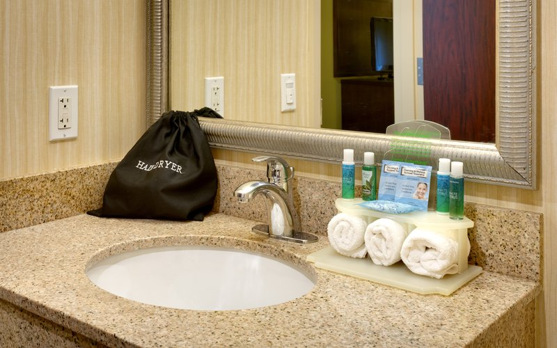 Holiday Inn Express & suites American Fork - North Provo-Bathroom Amenities<br/>Image from Leonardo