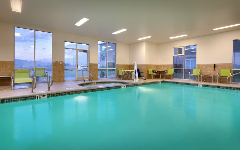 Holiday Inn Express & suites American Fork - North Provo-Check out our spacious outdoor pool at the Holiday Inn Express.<br/>Image from Leonardo