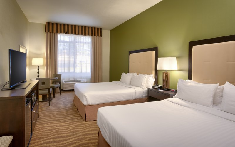 Holiday Inn Express & suites American Fork - North Provo-Spacious double queen rooms await you in American Fork.<br/>Image from Leonardo