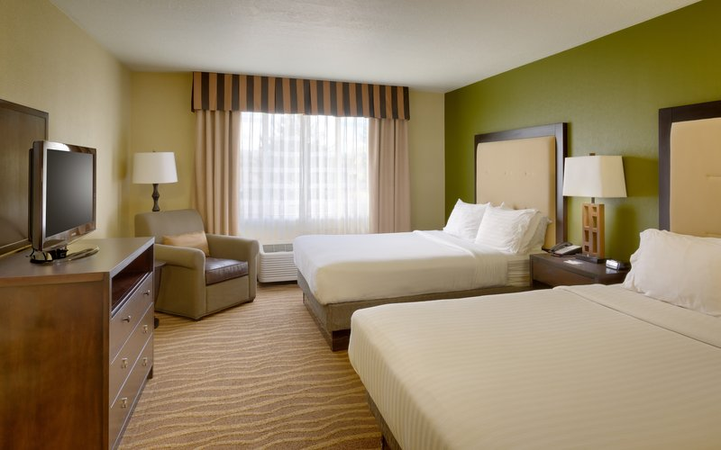 Holiday Inn Express & suites American Fork - North Provo-Spread out in a two queen and sofa bed suite in American Fork.<br/>Image from Leonardo