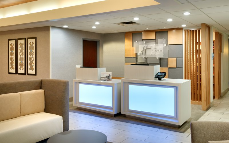 Holiday Inn Express & suites American Fork - North Provo-Front Desk<br/>Image from Leonardo