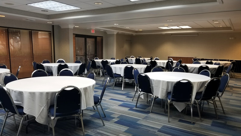 Holiday Inn Express Wilmington-Our Ballroom accommodates 36 - 100 people with different set ups.<br/>Image from Leonardo