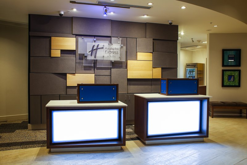 Holiday Inn Express & Suites Louisville Downtown-Front Desk Open 24 Hours<br/>Image from Leonardo