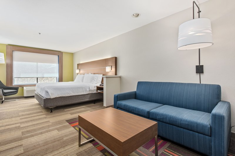 Holiday Inn Express & Suites Salt Lake City West Valley-King Bed Guest Room<br/>Image from Leonardo
