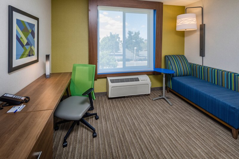 Holiday Inn Express & Suites Modesto-Salida-King Bed Room Seating Area<br/>Image from Leonardo