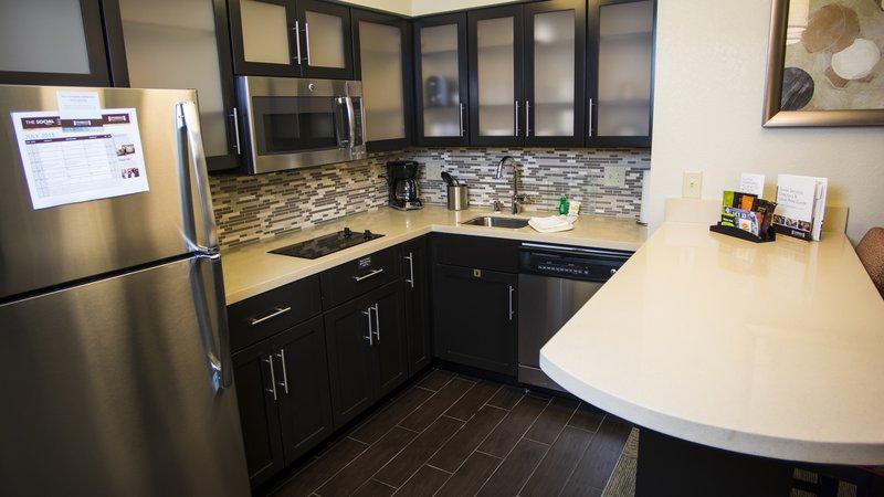 Staybridge Suites Lexington-Staybridge Suites Lexington, KY Two Bedroom kitchen<br/>Image from Leonardo