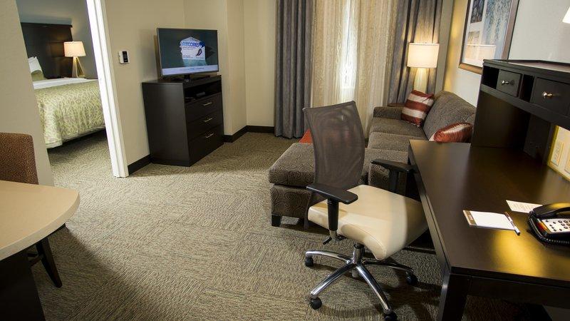 Staybridge Suites Lexington-Staybridge Suites Lexington KY One bedroom King Bed<br/>Image from Leonardo