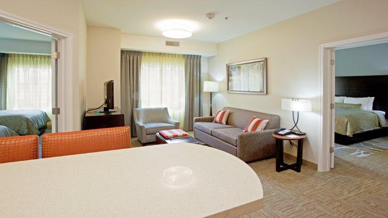 Staybridge Suites Lexington-Staybridge Suites Lexington, Kentucky Two Bedroom Two Bath Suite<br/>Image from Leonardo
