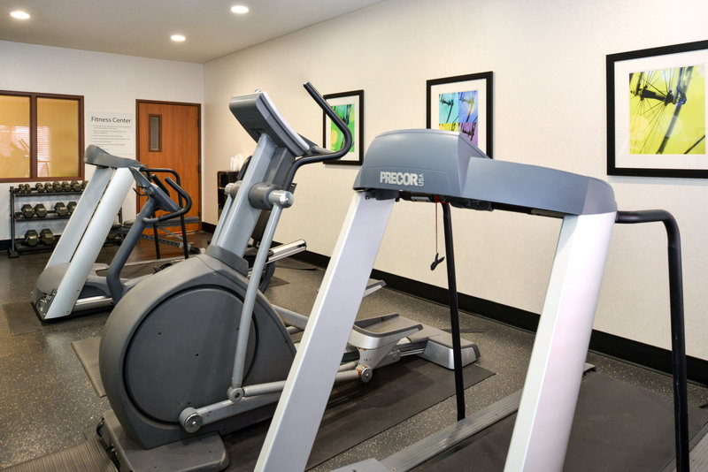 Holiday Inn Express & Suites Omaha West-Fitness Center just minutes from Village Pointe Shopping Mall<br/>Image from Leonardo