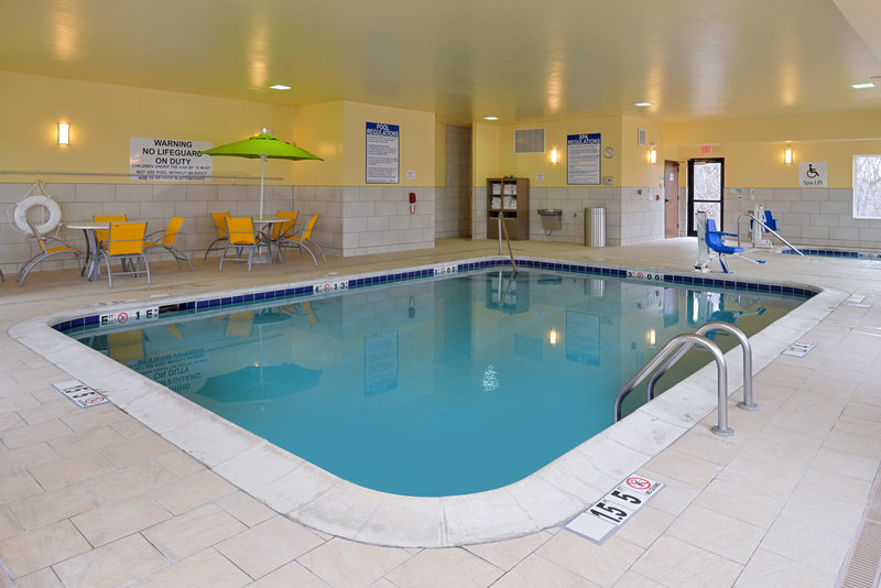 Holiday Inn Express & Suites Omaha West-Swimming Pool just 15 miles away from Omaha's Henry Doorly Zoo<br/>Image from Leonardo