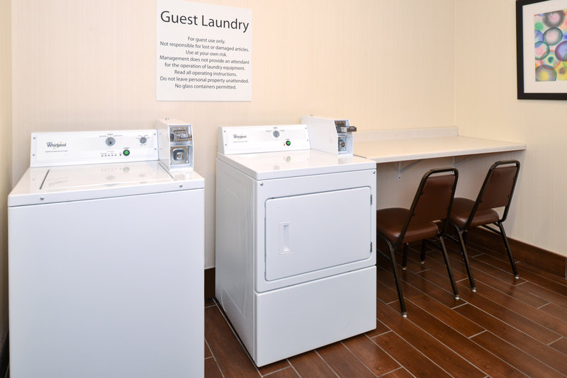 Holiday Inn Express & Suites Omaha West-Guest Laundry less than a mile from CHI Health Lakeside Hospital<br/>Image from Leonardo