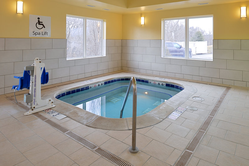 Holiday Inn Express & Suites Omaha West-Hot Tub less than a mile from CHI Health Lakeside Hopital<br/>Image from Leonardo