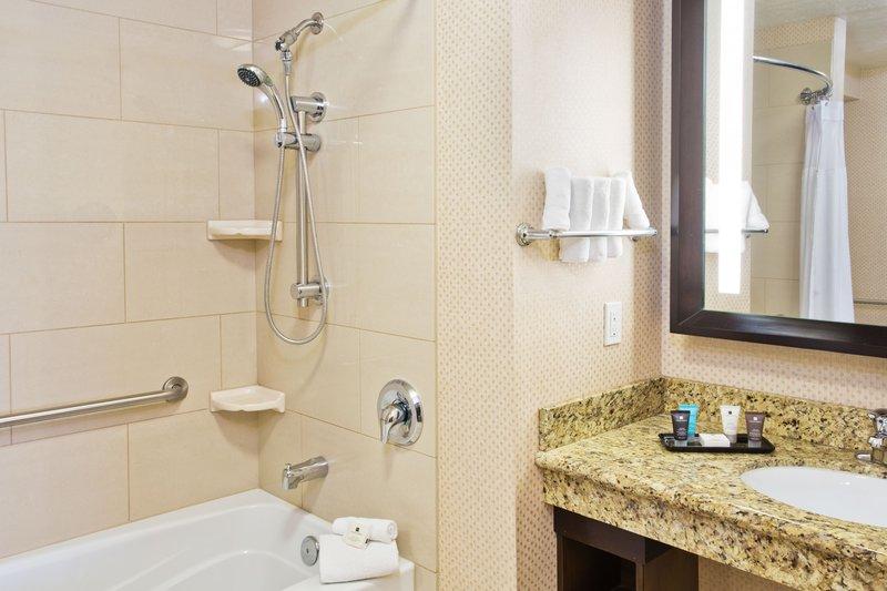 Crowne Plaza Anchorage Midtown-ADA Accessible Suite Bath<br/>Image from Leonardo