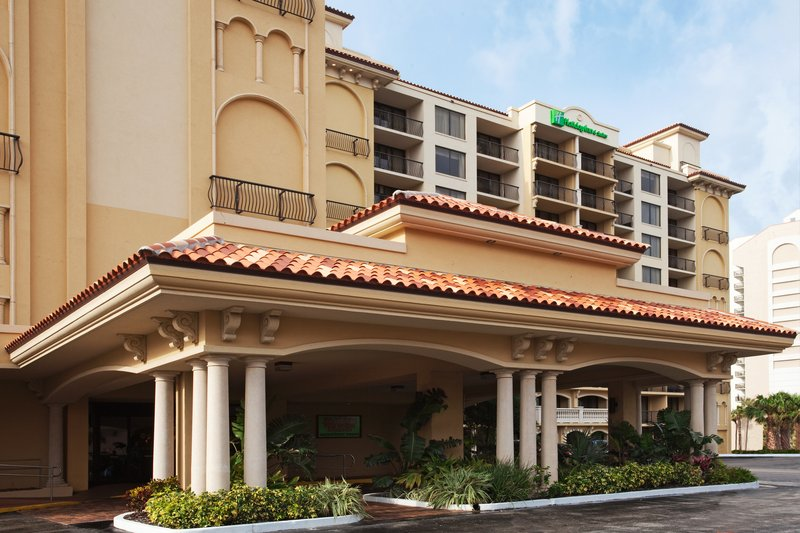 HOLIDAY INN HOTEL AND SUITES CLEARWATER BEACH-Clearwater Beach Hotel Exterior<br/>Image from Leonardo