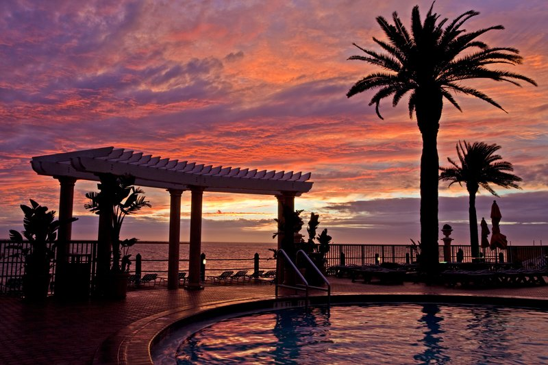 HOLIDAY INN HOTEL AND SUITES CLEARWATER BEACH-Amazing Florida sunset<br/>Image from Leonardo