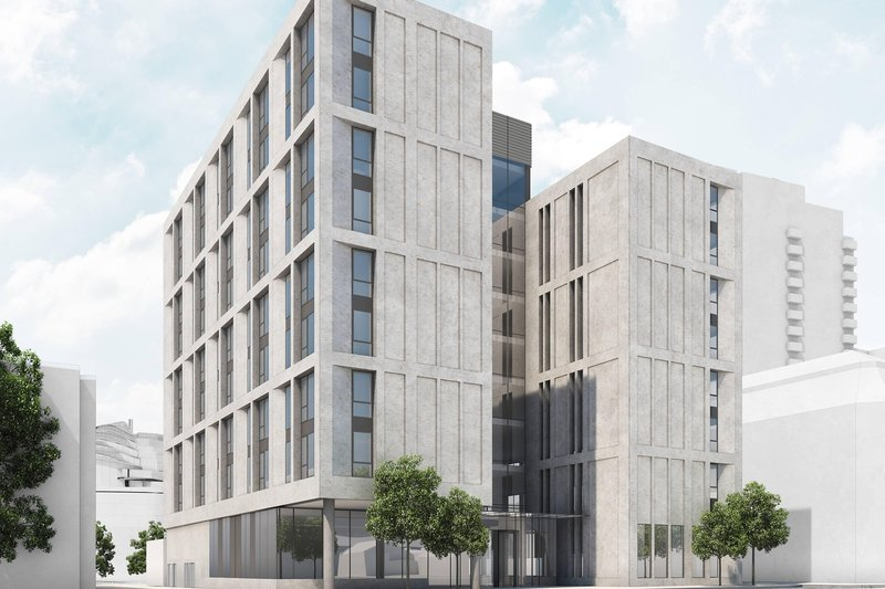 AC Hotel by Marriott Manchester City Centre-Exterior<br/>Image from Leonardo