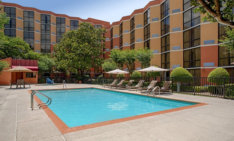 Crowne Plaza Austin-Outdoor pool & whirlpool open year round<br/>Image from Leonardo