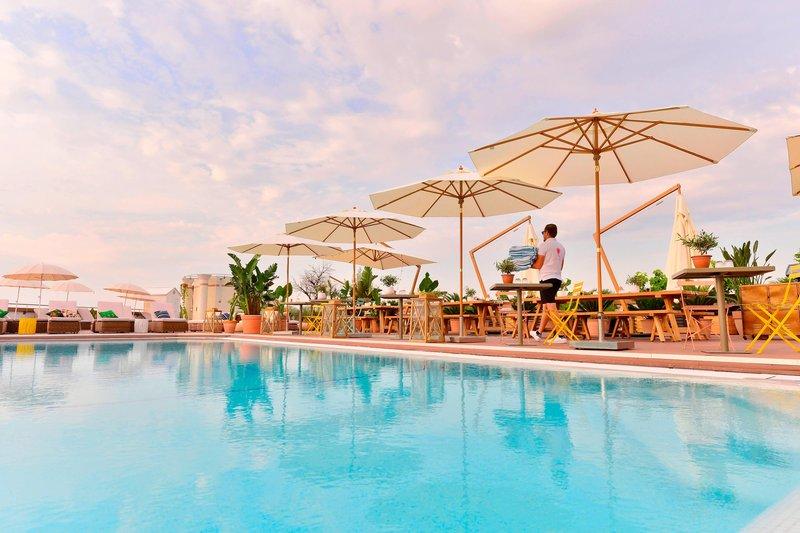 AC Hotel Nice-Outdoor Pool<br/>Image from Leonardo