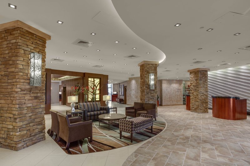 Crowne Plaza Executive Center Baton Rouge-Relax in our fully furnished hotel lobby<br/>Image from Leonardo