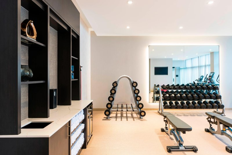 AC Hotel Boston Downtown-Fitness Center - Free Weights<br/>Image from Leonardo