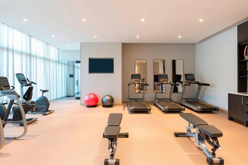 AC Hotel Boston Downtown-Fitness Center<br/>Image from Leonardo