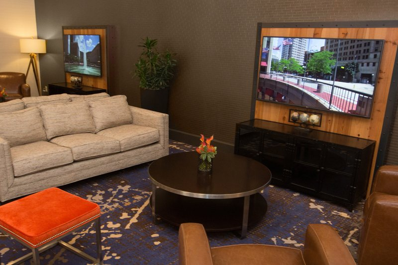 Holiday Inn Dayton/Fairborn I-675-Relax and enjoy after a long day in our beautifully designed lobby<br/>Image from Leonardo