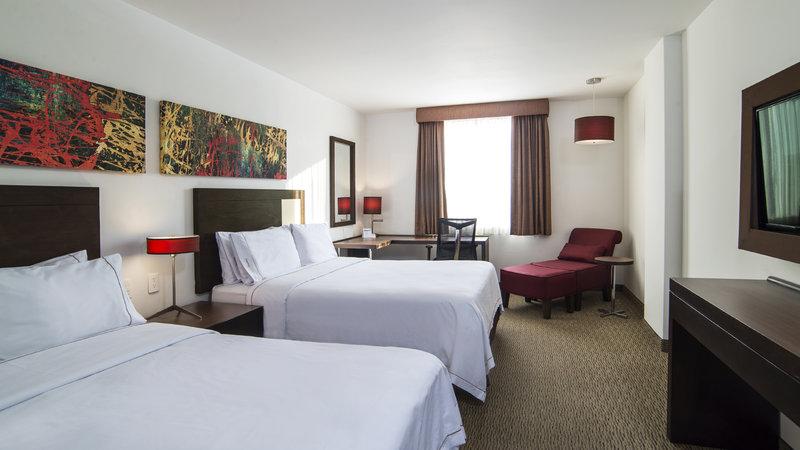 Holiday Inn Express Guadalajara Autonoma-Double Bed Guest Room<br/>Image from Leonardo
