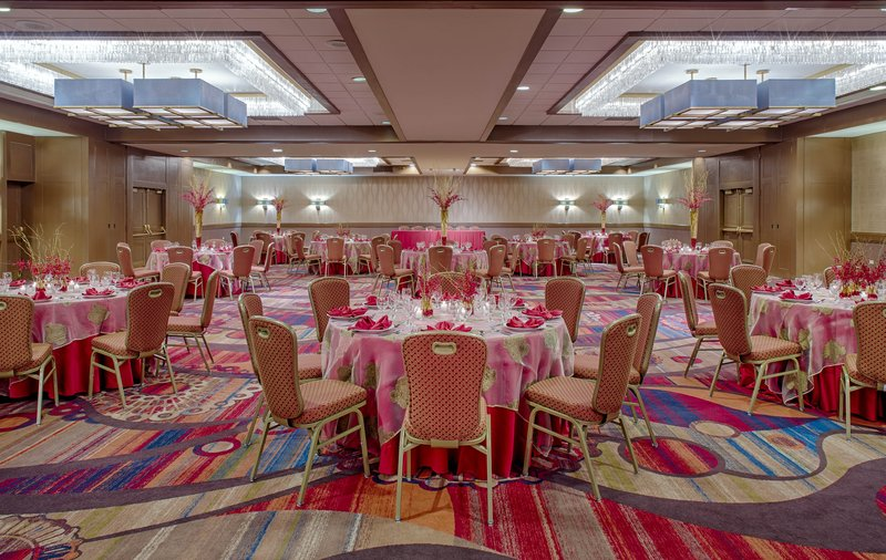 Crowne Plaza Dayton-Our Ballroom can accompany a meeting of any size.<br/>Image from Leonardo