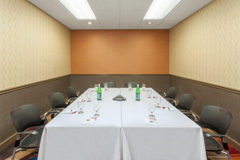 Crowne Plaza Dayton-Our Boardroom is the perfect atmosphere for a small group meeting.<br/>Image from Leonardo