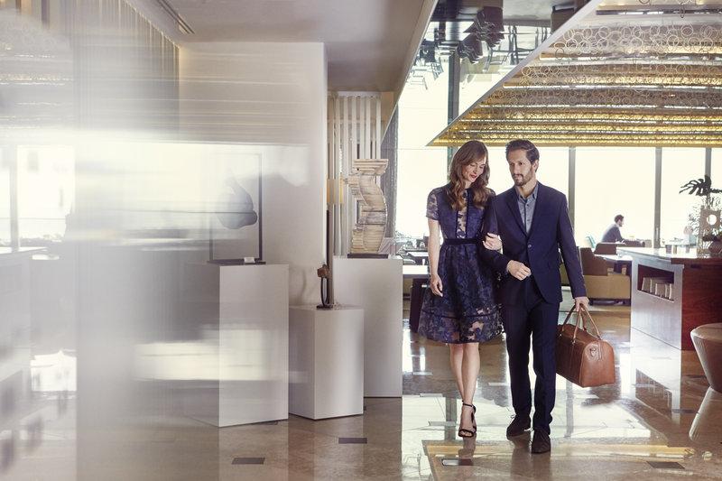 Intercontinental Estoril-Walking at Lobby<br/>Image from Leonardo
